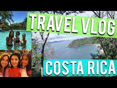 TRAVEL VLOG | COSTA RICA - Ziplining! Hiking! Catamaran!