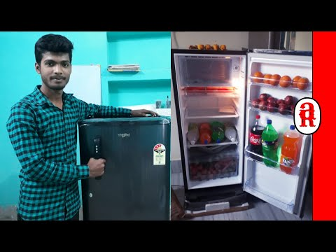 Whirlpool 190 L Direct Cool Single Door Refrigerator Unboxing in Hindi