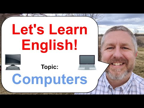 Let's Learn English! Topic: Computers 💻 🖥️