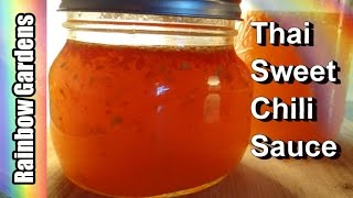 Thai Sweet Chili Sauce Recipe - How to Make Thai Sweet Chilli Sauce