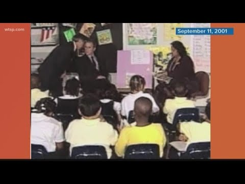 17 years ago today, President Bush read at Booker Elementary School in Sarasota
