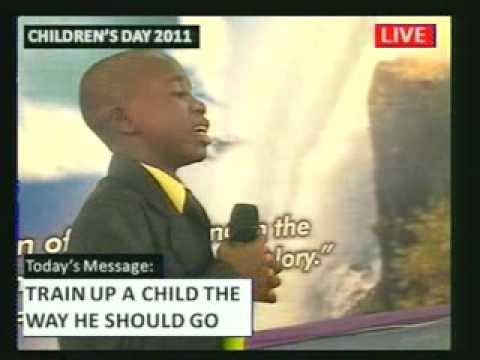Sermon by children's Pastor.