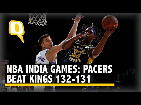 NBA India Games: Indiana Pacers Beat Sacramento Kings 132-131   The Quint