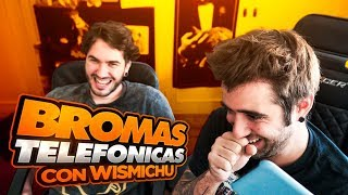 Mix of telephones jokes with Wismichu