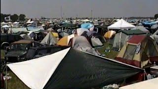 Bonnaroo parking/camping lot.  June 22, 2002