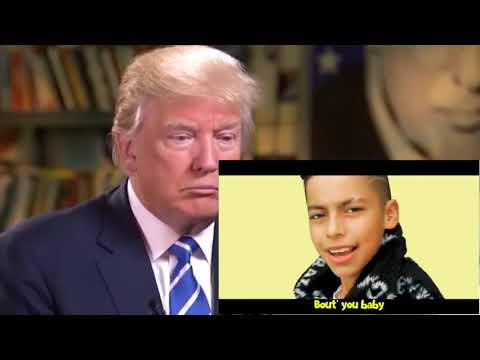 """donald-trump-reacts-to-""""ferran---baby-girl""""(official-music-video)