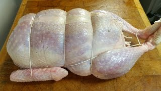 How To Make A Turducken.A Thanksgiving Special.TheScottReaProject