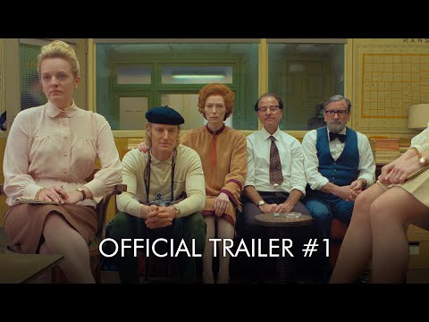 THE FRENCH DISPATCH   Official HD Trailer #1   In Cinemas August 13
