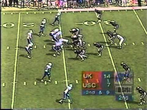 Tim Couch vs  South Carolina 1997