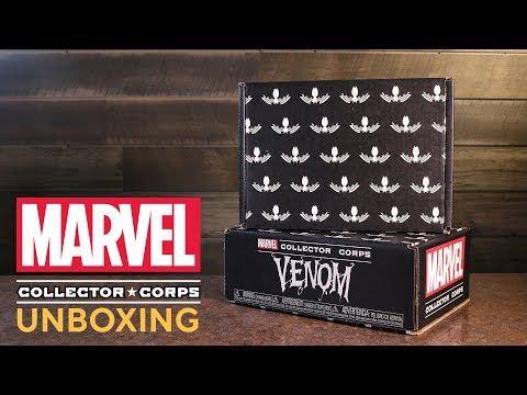 Amazon Exclusive Marvel Collector Corps Venom Unboxing