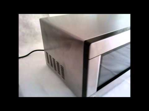 Oster Microwave Oven 1 Cubic Ft 1100 Watts Model Ogyj1103 Stainless Steel