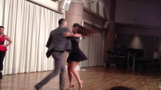Omar and Shani Pre-party Japan Salsa Congress 2014 サントスマイト 検索動画 30