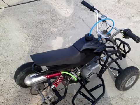 Pocket Quad Tun... Pocket Bike 50cc