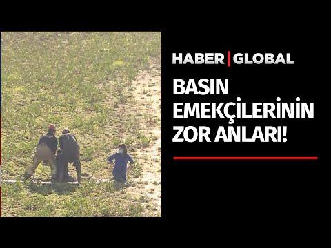 İstanbul'da Baraj Yatağına Giren Haber Global Ekibi Balçığa Saplandı! İtfaiye Kurtardı! İşte o Anlar