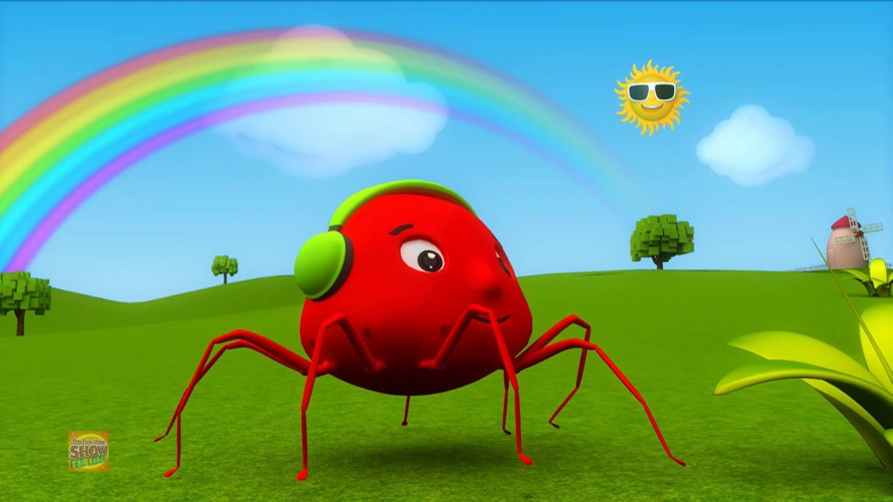 Incy Wincy Spider   Nursery Rhymes   Cartoon Videos For Kids