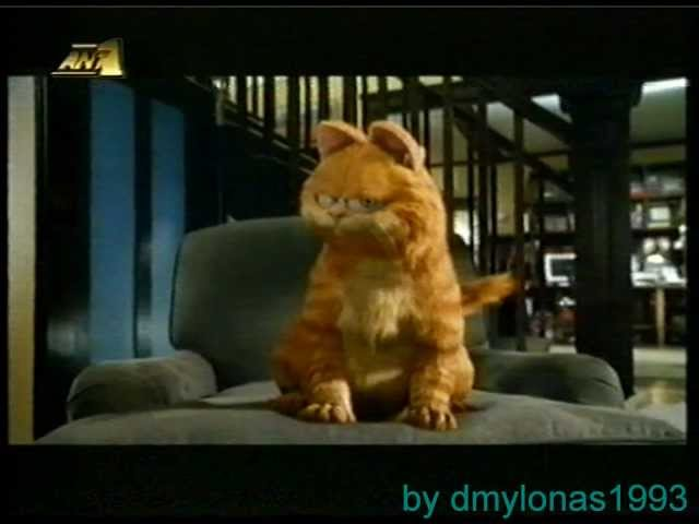 Greek ANT1 (Garfield) Ident 2004-2005 Travel Video
