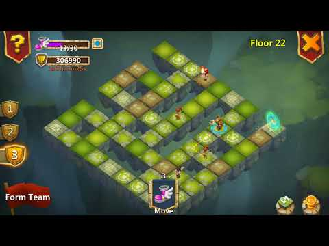 Castle Clash - Labyrinth (Floor 21-25)