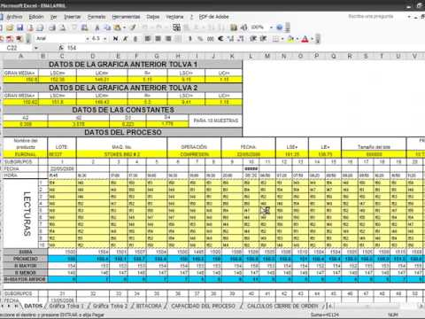 tutorial grafica de control con minitab youtube