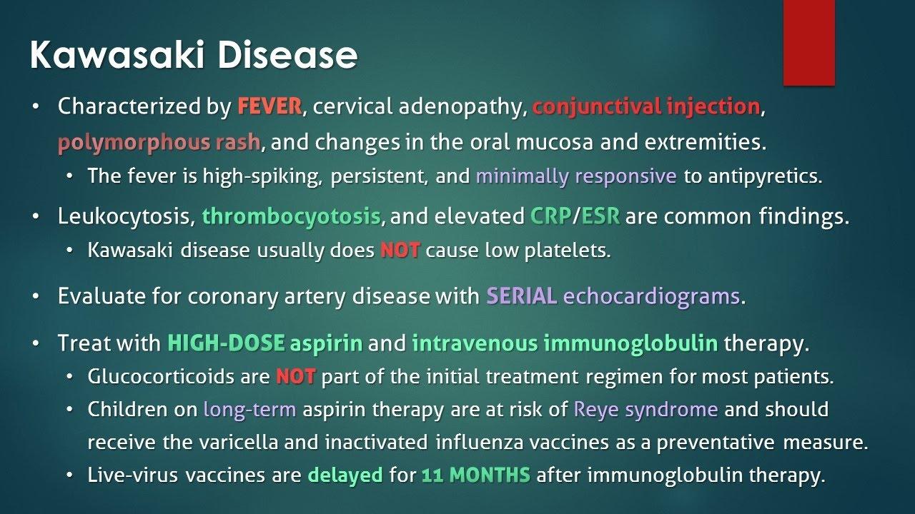 Scarlet Fever Or Kawasaki Disease
