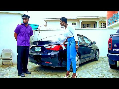 She Doesnt Know I Am The Owner Of The House Pretending To Be A Common Gateman - nigerian movies
