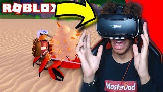 STUCK IN ROBLOX VIRTUAL REALITY! | Roblox Roleplay