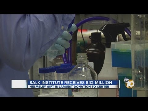 Salk Institute receives historic donation