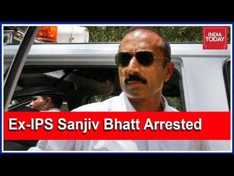 Ahmedabad: Ex-IPS Sanjiv Bhatt Arrested In 1998 Fake Narcotics Case