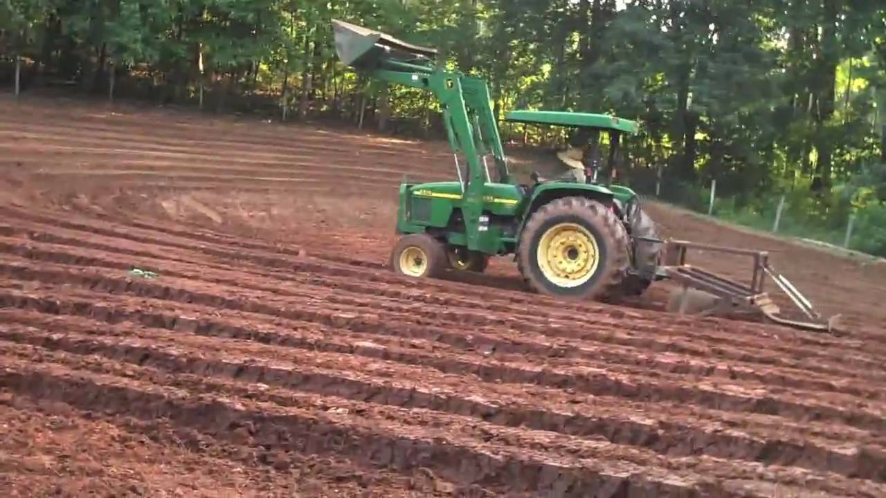 2009 the first field at the roswell kenari farm - YouTube