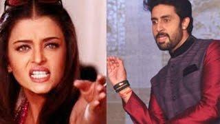 SHOCKING! Abhishek Bachchan  ने अपनी ही फिल्म में Aishwarya Rai को लेने से मना किया!