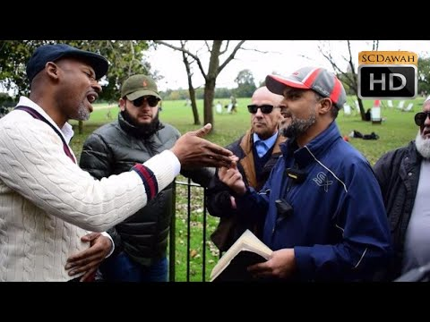 P1 - No Spirit!? Hashim Vs Christian | Speakers Corner | Hyde Park