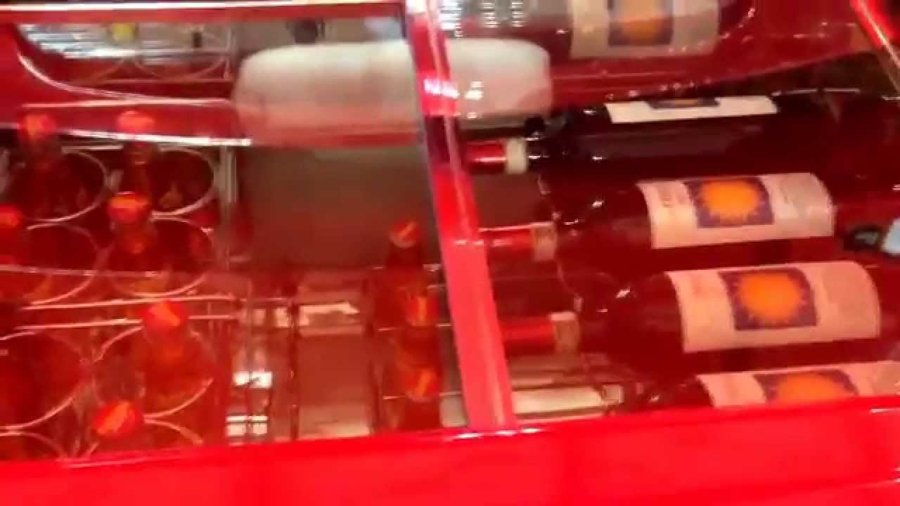 Fiat 500 Con Frigo Smeg Porta Vino Smeg500 Youtube