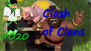 Let's Play Clash of Clans #020 Neues Micro!!!