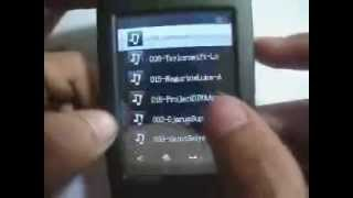 MP3 E-PRO Touch Screen 4GB (For Sell)
