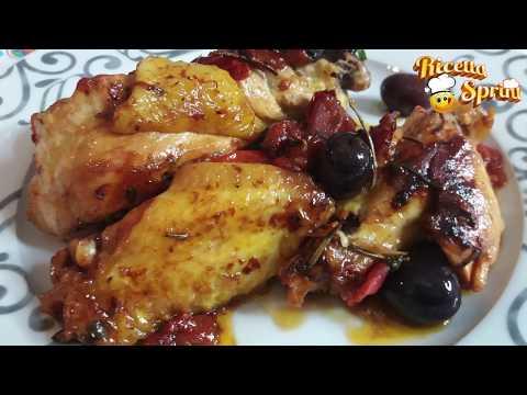 Pollo alla cacciatora, gustoso e facie da fare