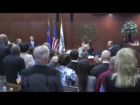 Nevada State Senate, Assembly sworn in for 79th Legislature