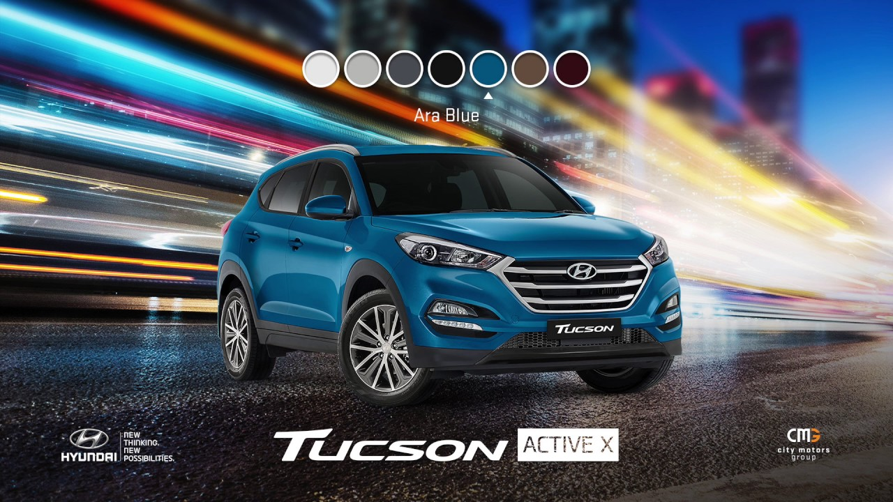 Hyundai Tucson Video Brochure Review Of Best Tucson Colours