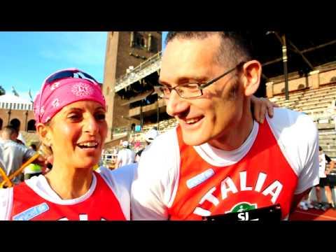 Maratona di Stoccolma 2010 - Interviste all'arrivo