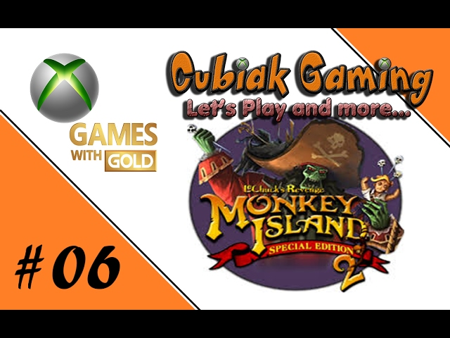 Let's Play Games with Gold - Monkey Island 2 SE #06