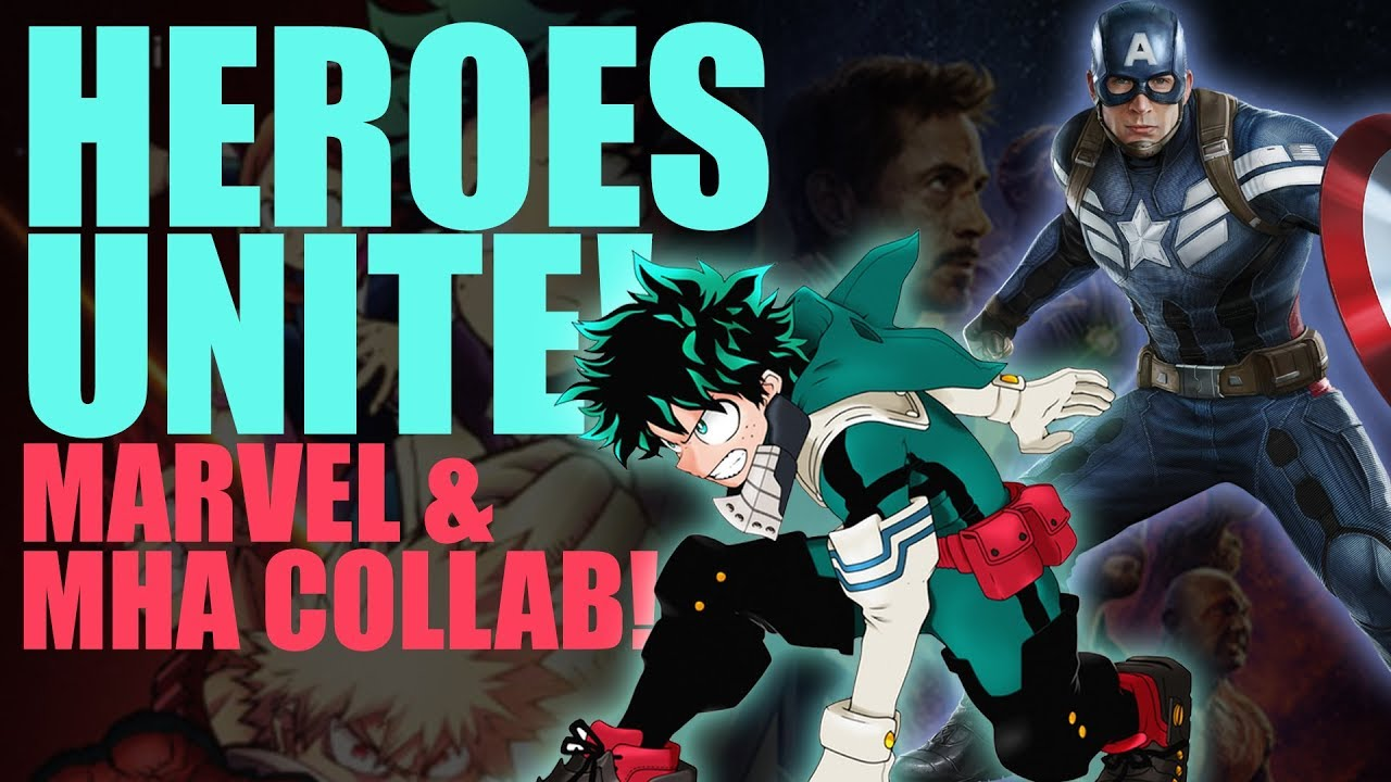 c80a275f3a4e DOPE!! The Avengers   My Hero Academia Collab!!! - YouTube