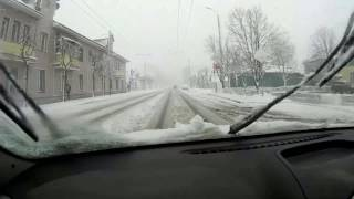 Пришла зима весной (19 апреля 2017 г.) Тамбов