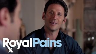 "Royal Pains - Season 5, Eps 4 - ""Pregnant Paws,"" Evan for Village Council"