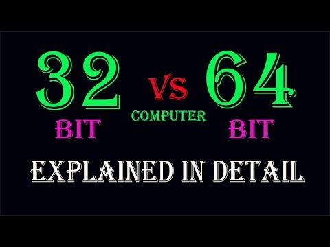 32-bit vs 64-bit Computers| Explained in Detail | Urdu-Hindi |