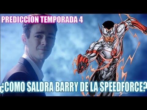 ¿COMO SALDRÁ BARRY DE LA SPEED FORCE? - Teoria The flash Temporada 4