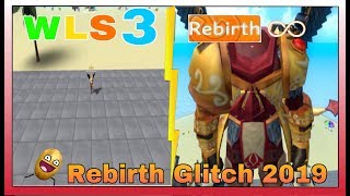 (NUOVO) Rebirth Glitch 2019 in Roblox Weight Lifting Simulator 3 WLS3 (ancora funzionante) [READ DESC]