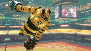 ARMS Gameplay - Mechanica  (60 FPS) Nintendo Switch