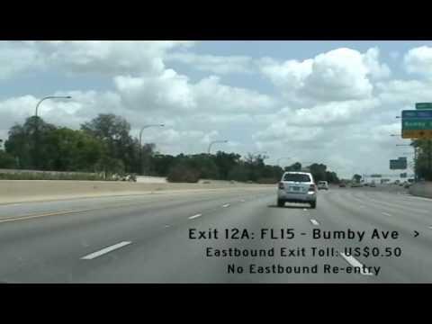FL408(Toll) - The Spessard L Holland East-West Expressway
