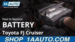 How to Replace Battery 07-14 Toyota FJ Cruiser
