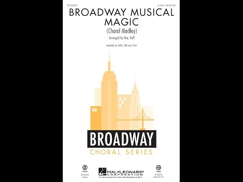 Broadway Musical Magic, Section 1 (2-Part) - Arranged by Mac Huff