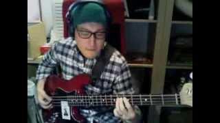 敬愛する人間椅子の曲「幽霊列車」をベースで弾いてみました。 スズケン...