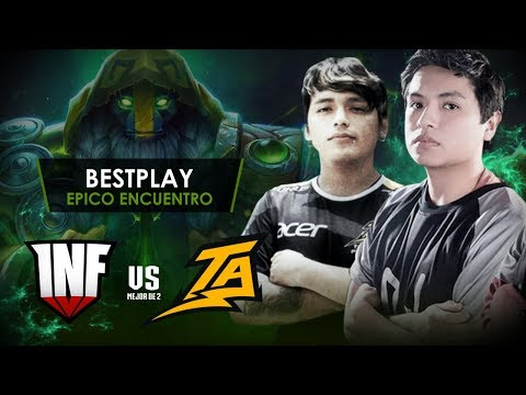 Infamous vs Thunder Predator - Minoz (Antimage) vs Atun (Morphing) - Epicas Team Figth! Dota